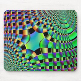 Fractal Weave Mousepad