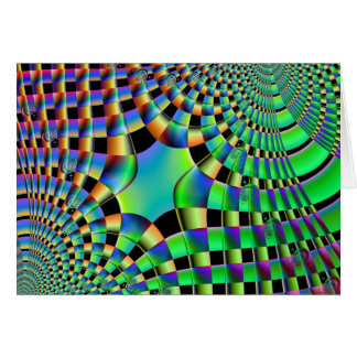 Fractal Weave Notecard Stationery Note Card
