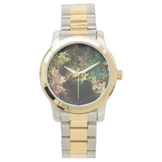 Fractal Wilderness Two-Toned Watch