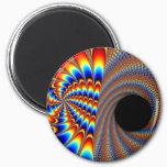 Fractal Wink Magnet