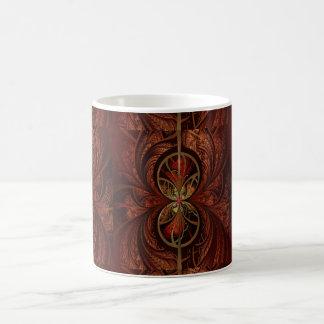 Fractal Wood Coffee Mug