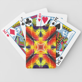 Fractal Xfire - Bicycle playing cards