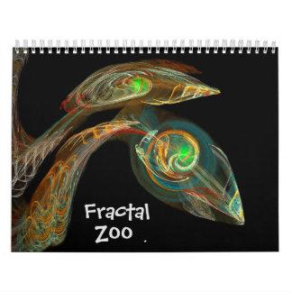 Fractal Zoo Calendar