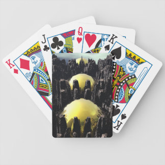 Fractaland Bicycle Playing Cards