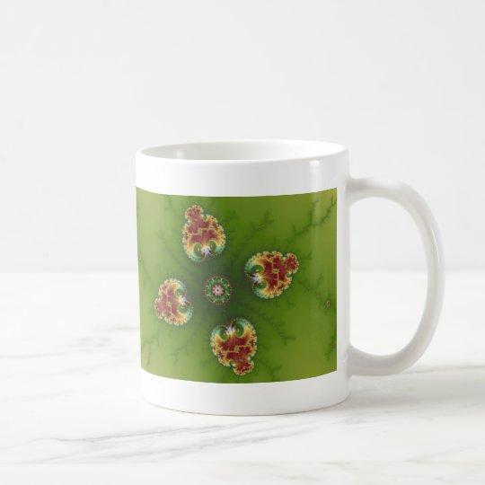 Fractalbug Picnic - Fractal Art Coffee Mug