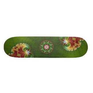 Fractalbug Picnic - Fractal Art Skateboard