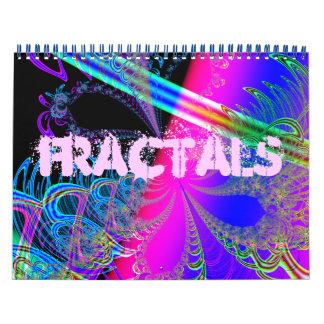 Fractales Calendarios De Pared