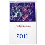 fractales de ana calendarios