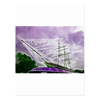 Fractales de Sark Greenwich del Cutty Postales