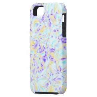 Fractales en colores pastel nebulosos - caso del a iPhone 5 cobertura