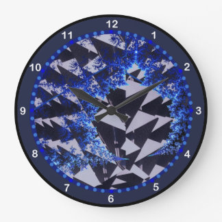 Fractales encapuchados reloj