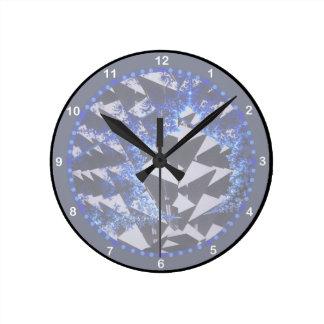 Fractales encapuchados 'su texto Here Relojes