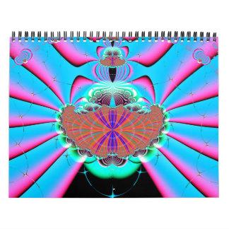 Fractales para 2 calendario