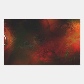 FRACTALES SCIE de abstract_fractals_3-1600x1200 Pegatina Rectangular