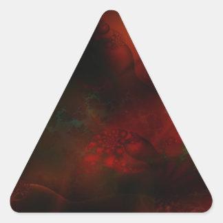 FRACTALES SCIE de abstract_fractals_3-1600x1200 Pegatina Triangular