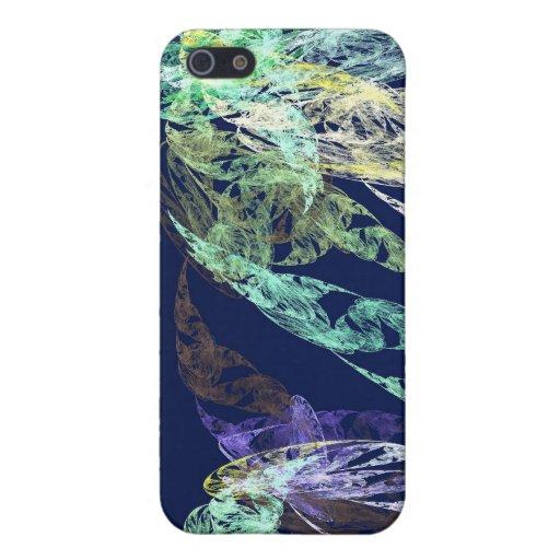 Fractales - serpiente de mar iPhone 5 protectores