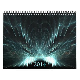 Fractales simétricos 2014 calendario