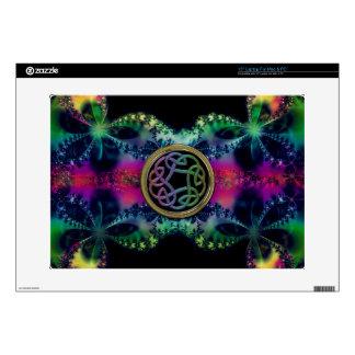 """Fractalicious Celtic Design 15"""" Laptop Decal"""