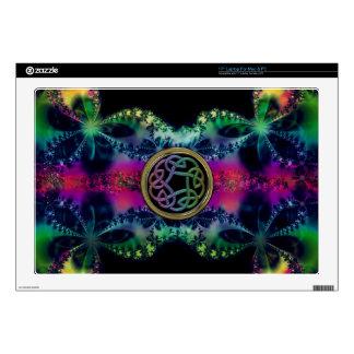 "Fractalicious Celtic Design 17"" Laptop Skin"