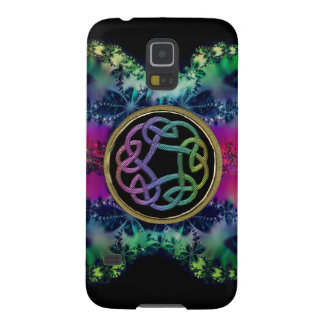 Fractalicious Celtic Rainbow Knot Design Galaxy S5 Cover