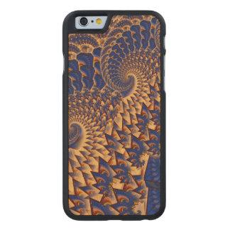 Fractalicity Funda De iPhone 6 Carved® Slim De Arce