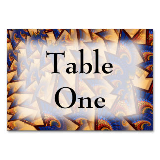 Fractalicity Table Card