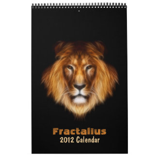 Fractalius 2012 Calendar
