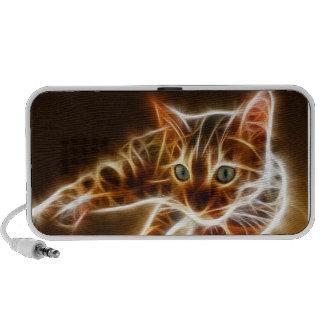 Fractalius Bengal Cat Travel Speakers
