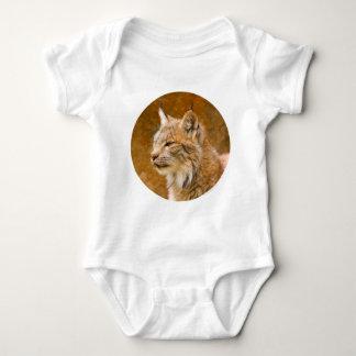Fractalius Canadian Lynx Baby Bodysuit