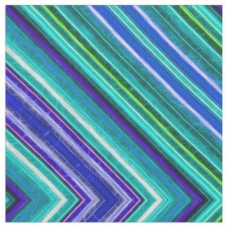 Fractalius Fabric Zig-Zag (Blue)