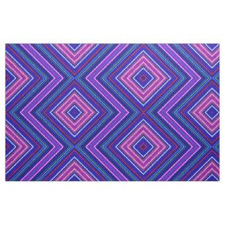 Fractalius Fabric Zig-Zag Mirrored (Purple)