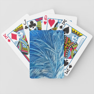 Fractalius Frost Bicycle Playing Cards
