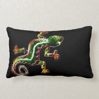 fractalius gecko pillow