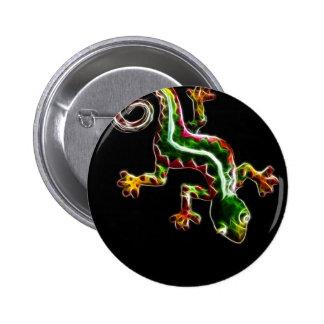 Fractalius Lizard Button