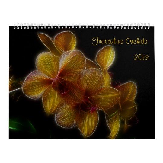 Fractalius Orchids 2012 Calendar