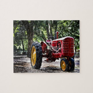 Fractalius Tractor Jigsaw Puzzle