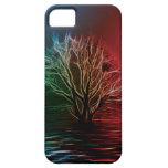 Fractalius Tree, Sky and River iPhone 5 Cover