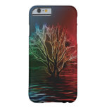 Fractalius Tree, Sky and River iPhone 6 Case