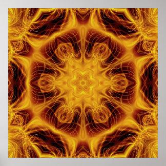 fractalmandala12 poster