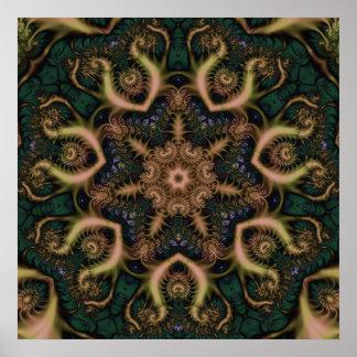 fractalmandala16 poster