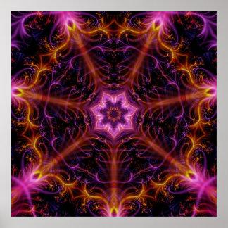 fractalmandala7 poster