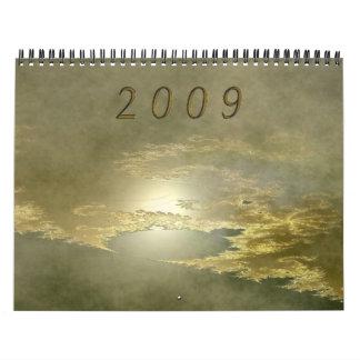 Fractals 2009 calendar
