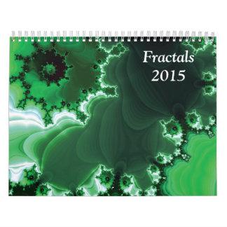 Fractals 2015 wall calendars