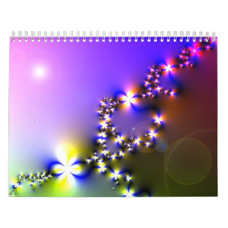fractals and flowers digital images 2012 calendar calendar