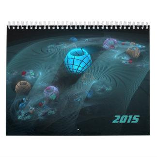 Fractals for 2015 v1 calendar