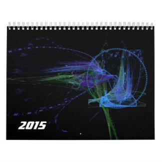Fractals for 2015 v2 calendar