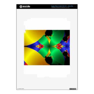 Fractals iPad 3 Skin