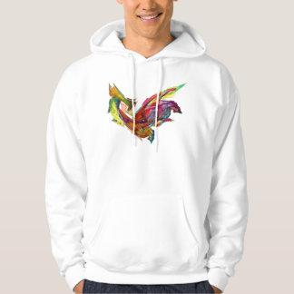 Fractals - Rooster Hoodie