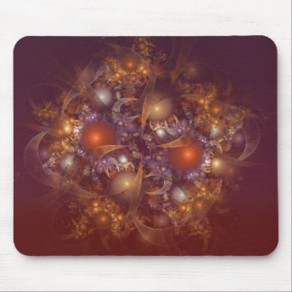 Fractals Spheres Mouse Pad
