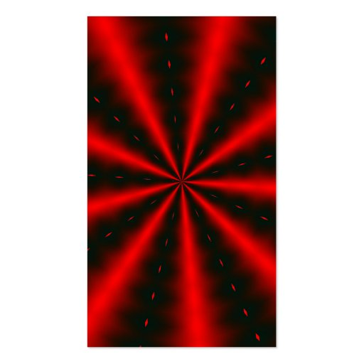 Fractalscope 26 Double-Sided standard business cards (Pack of 100)